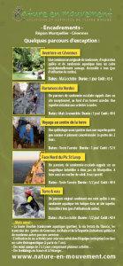 Découvrir des activités de spéléo, escalade, randonnée aquatique encadrées Montpellier/Cévennes