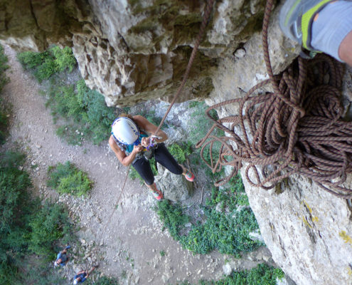 rappel pic st loup montpellier