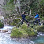 Traverser une rivière