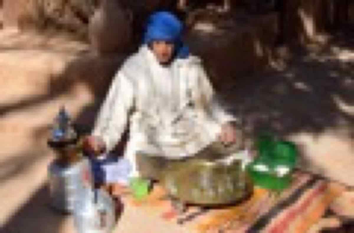 Thé à Ouled Driss