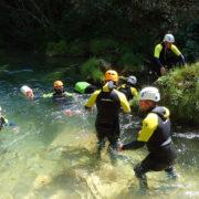 Descente de rivière sauvage