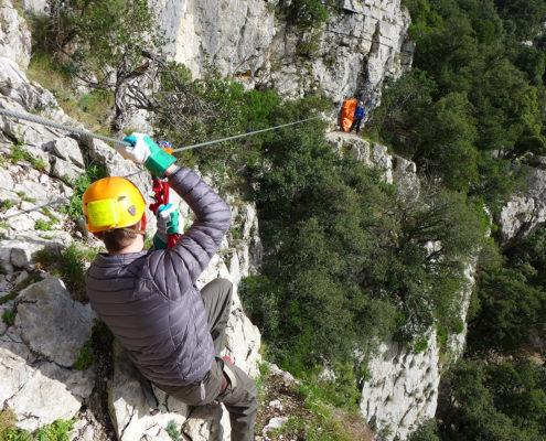 Tyrolienne épreuve Koh-Lanta