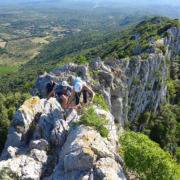 Team Building Nature face Nord du Pic St Loup